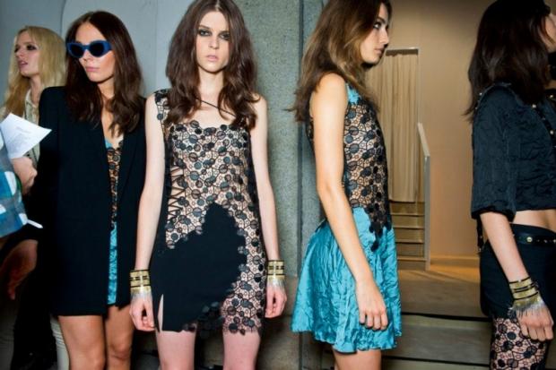 Versace at Milan Fashion Week Fall 2020