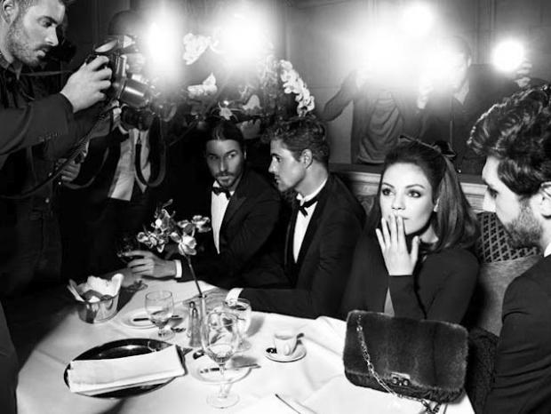 Mila Kunis for Miss Dior Handbag Fall/Winter 2020 Campaign
