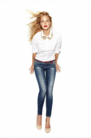Erin Heatherton for Blanco Jeans F/W 2020 Campaign