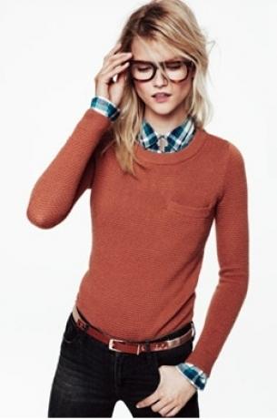 Madewell Looks We Love Sweater Time Fall 2020
