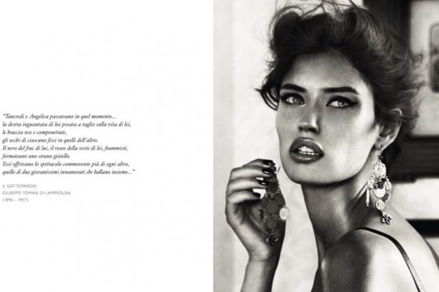 Bianca Balti for Dolce & Gabbana Jewelry 2020 Campaign