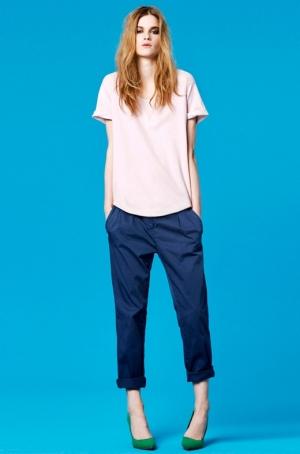 Zara TRF New Color Pants Lookbook 2020