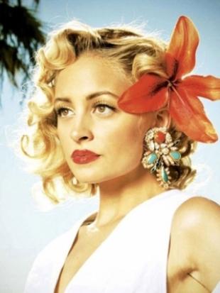 Nicole Richie Covers Harper's Bazaar Russia