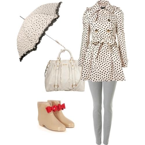 Summer Rainy Days Outfit Ideas