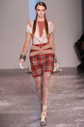 Fall/Winter 2020 Plaid Fashion Trend