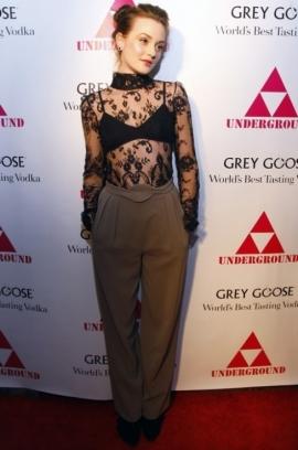 Lingerie-Inspired Celebrity Fashion