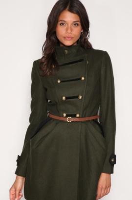 Celebrity Military Fashion Trend