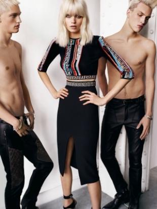 Versace Ad Campaign Spring 2020