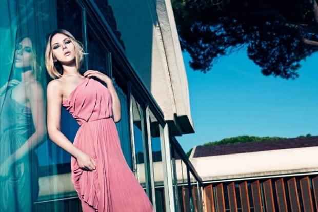 Scarlett Johansson for Mango Spring 2020 Ad Campaign