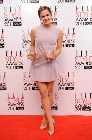 Emma Watson Wins Elle Style Awards 2020
