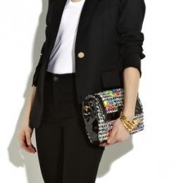 Marc Jacobs Fluorescent Tweed Bag