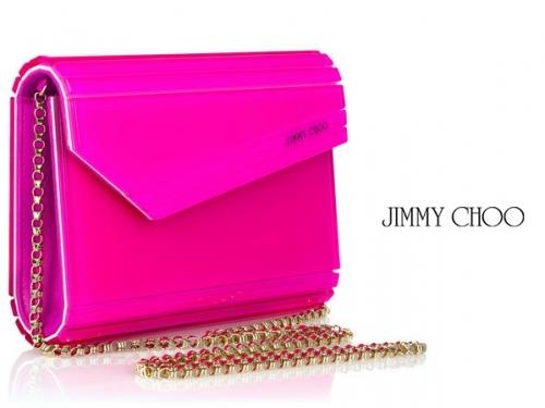 Jimmy Choo Candy Acrylic Clutches