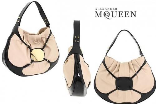 Alexander McQueen Clover Hobo Bag