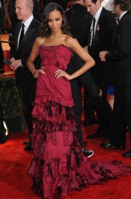 Ruffles Red Carpet Fashion