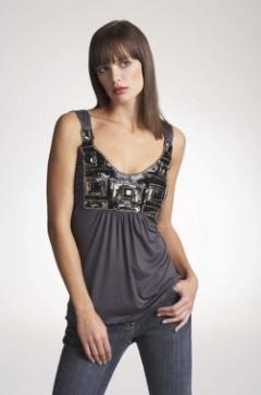 How to Wear Embellished Necklines