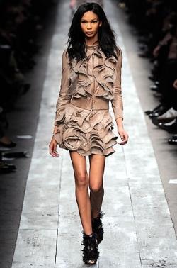Ruffles Fashion Trend