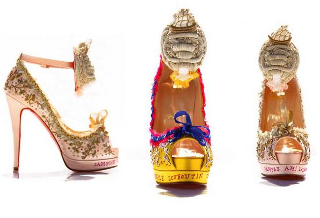 Christian Louboutin Marie Antoinette Shoes