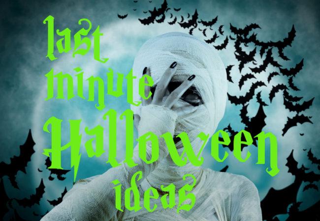 Last Minute Halloween Makeup Ideas