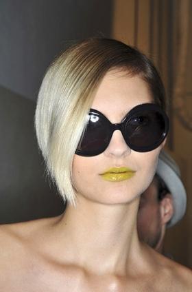Cool Runway Makeup Trend