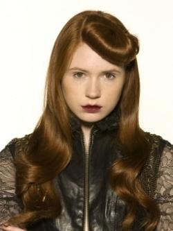 Create Vintage Faux Bangs Hairstyles