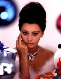 Sophia Loren Vintage Hairstyles