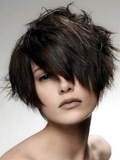 Jagged Layered Short Haircuts