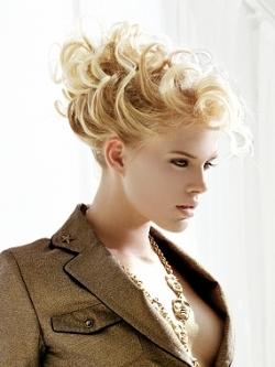 Updos for Medium Hair Length