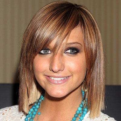 Ashlee Simpson Hair Style Evolution