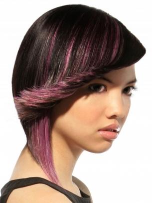 Colored Hair Highlights Ideas
