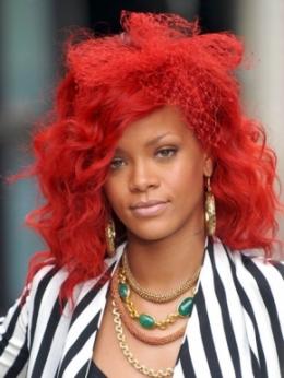 Rihanna – Reason for Red Hair Color