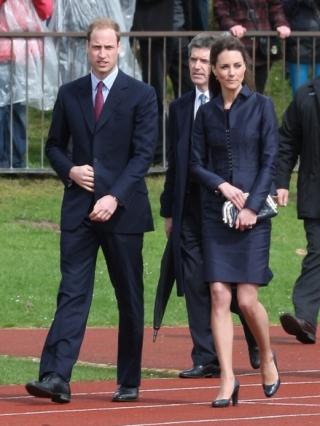Kate Middleton Spending Night Before Wedding at Hotel