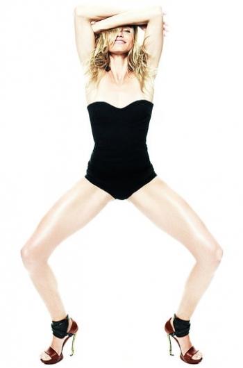 Cameron Diaz Covers Elle UK Magazine June 2020