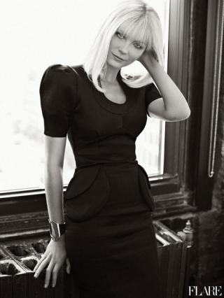 Kirsten Dunst Talks Depression in Flare November 2020