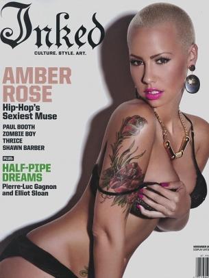 Amber Rose Covers Inked Magazine November 2020