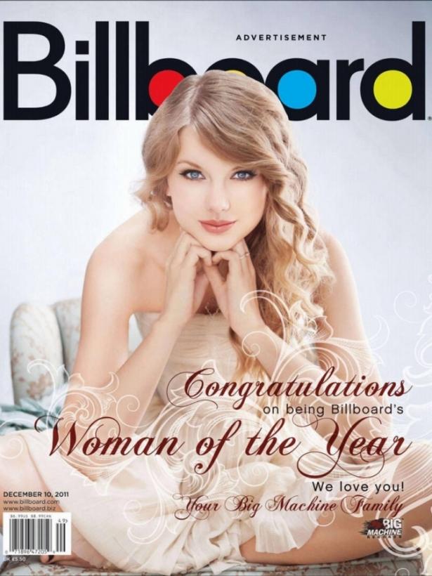 Taylor Swift Covers Billboard's Women in Music Issue