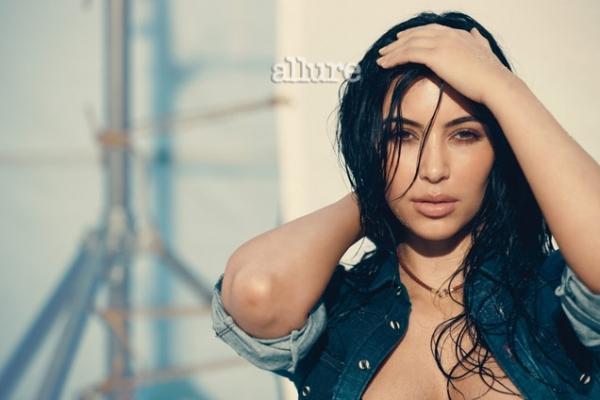 Kim Kardashian Covers Allure March 2020