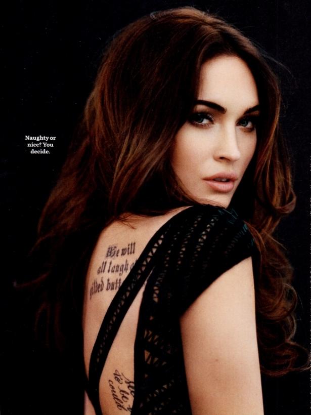 Megan Fox Talks Love and Bad-Girl Image with Cosmopolitan April 2020