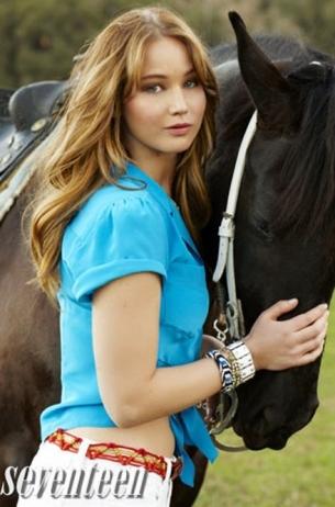 Jennifer Lawrence Covers Seventeen April 2020