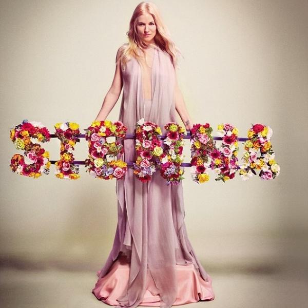 Sienna Miller Talks Pregnancy with Vogue UK April 2020