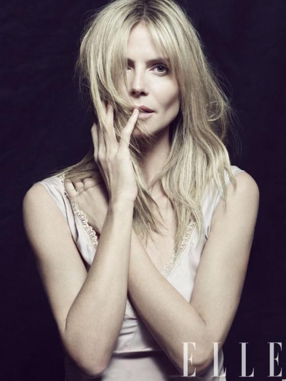 Heidi Klum Talks about Divorce in Elle April 2020
