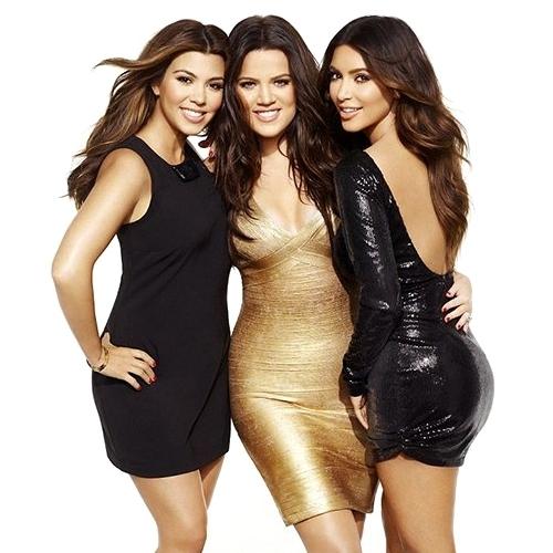 The Kardashian Sisters Glam Up Cosmopolitan UK December 2020
