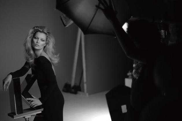 Kate Moss for Kérastase Campaign 2020