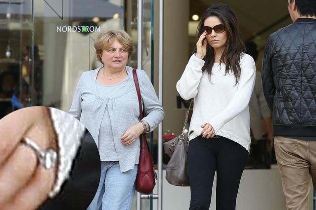 Mila Kunis and Ashton Kutcher Are Engaged