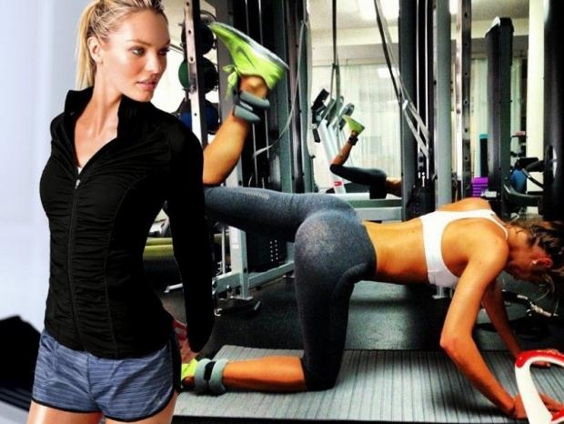 Candice Swanepoel's Exercise Routine