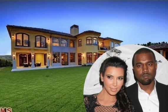 Parents-to-Be Kim Kardashian and Kanye West Buy m Mansion