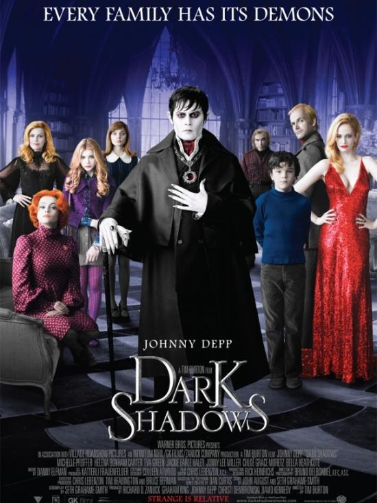 NYX 'Dark Shadows' Inspired Makeup Palette