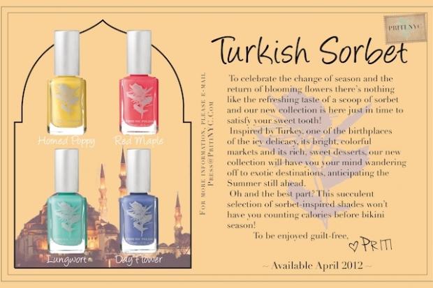 Priti NYC Turkish Sorbet Nail Polishes