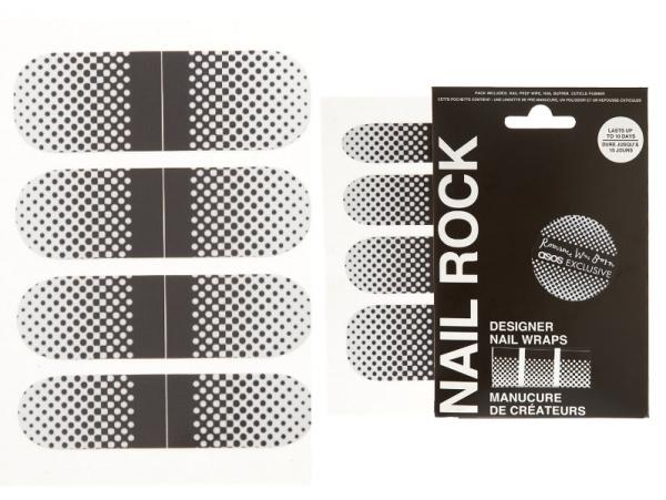 Nail Rock Designer Collection Nail Wraps   ASOS Excusive
