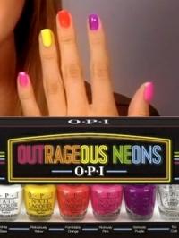 OPI Outrageous Neons Mini Nail Polish Pack