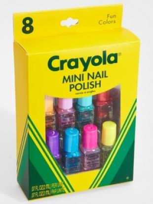 Crayola Mini Nail Polish Set